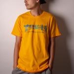 Camiseta Thrasher Hieroglyphics Amarelo