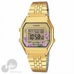 da02dec0bd9 Relógio Casio LA680WGA-4CDF Dourado Florido