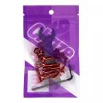 Parafuso Base Chaze 2.5mm Vermelho