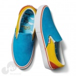 Tênis Vans Slip-On The Simpson Bart Azul