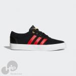 Tênis Adidas Adiease Preto e Vermelho