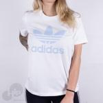 Baby Look Adidas Fm3293 Branca
