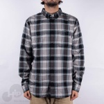 Camisa Dc Shoes Northboat Ls Cinza