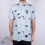 Camisa Hocks Tropical Azul Claro