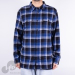 Camisa Vans X Anti Hero Wired Azul Escuro