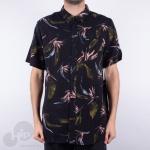 Camisa Volcom Faxer Floral Preta