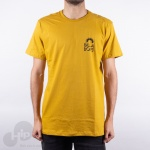 Camiseta Billabong Current Ii Amarela