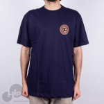 Camiseta Dc Shoes Circle Star Azul Escuro