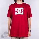 Camiseta Dc Shoes Star Vermelha