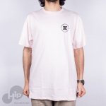 Camiseta Dc Shoes Work Rosa