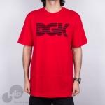 Camiseta Dgk Levels Vermelha