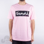 Camiseta Diamond Color Box Rosa