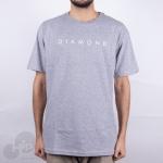 Camiseta Diamond Leeway Cinza Claro