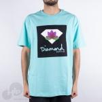 Camiseta Diamond Lotus Box Azul Claro