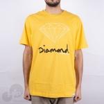 Camiseta Diamond Og Sign Amarela