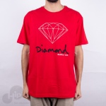 Camiseta Diamond Og Sign Vermelha