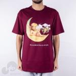 Camiseta Diamond Other Girls Vinho