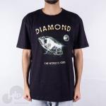 Camiseta Diamond World Is Yours Preta