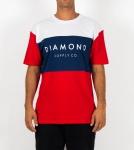 Camiseta Diamond Yacht Azul/Vermelha