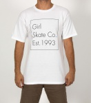 Camiseta Girl Timestamp Branca