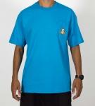 Camiseta Girl Tri-State Turquesa