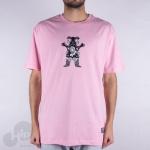 Camiseta Grizzly Bandana Bear Rosa
