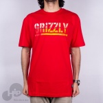 Camiseta Grizzly Brew Vermelha