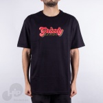 Camiseta Grizzly Disco Strip Preta