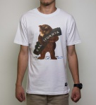 Camiseta Grizzly Loves Cali Branca