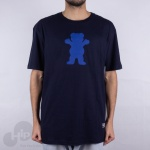 Camiseta Grizzly Og Bear Azul Escuro