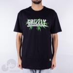 Camiseta Grizzly Seeds Stamp Preta