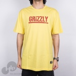 Camiseta Grizzly Stamped Amarela