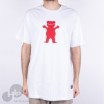 Camiseta Grizzly Torey Pudwill Pro Branca