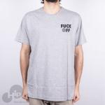 Camiseta Independent Fuck Off Cinza Claro