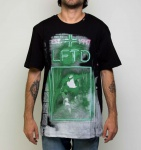 Camiseta LRG Greenlight District Preta