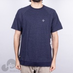 Camiseta Lrg Listrada Azul