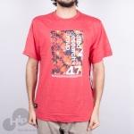 Camiseta Lrg Underground 47 Vermelha