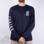 Camiseta Manga Longa Adidas Gj2687 Azul Escuro