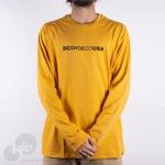 Camiseta Manga Longa Dc Shoes Dcshoeco Amarela