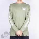 Camiseta Manga Longa Improve Poke Verde
