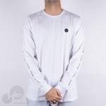 Camiseta Manga Longa Rvca Atmos Branca