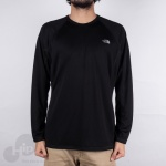 Camiseta Manga Longa Warm The North Face Preta