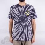Camiseta New Skate Tie Dye Hq Azul Escuro