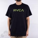 Camiseta Rvca Big Large Preta