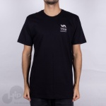 Camiseta Rvca Down The Line Preta