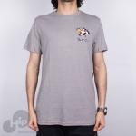 Camiseta Rvca Panther Head Cinza Claro