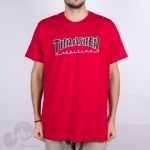 Camiseta Thrasher Outlined Vermelha