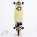 Longboard Creme Long Sol Amarelo