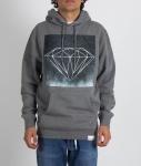 Moletom Diamond Chalk Cinza