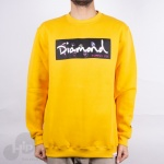 Moletom Diamond Colors Block Logo Amarelo